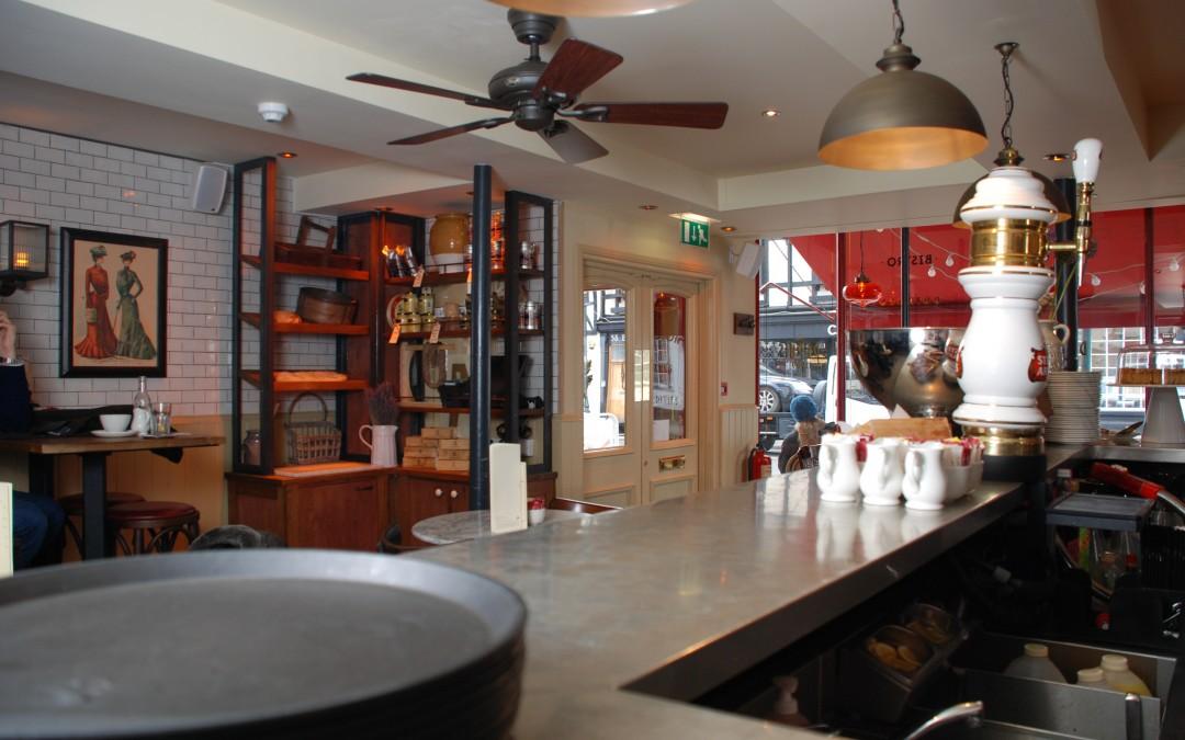Cafe Rouge Installs Seville II Fans