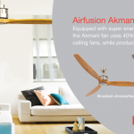 Amazing ultra low energy DC ceiling fan