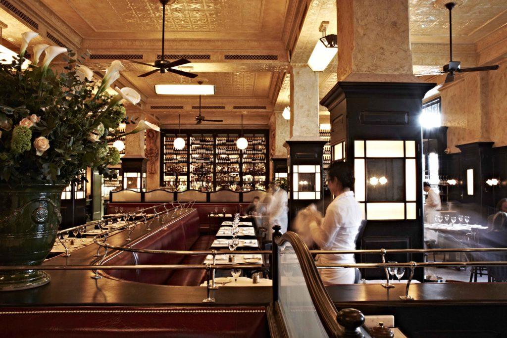 Hunter Classic Original Ceiling Fan Balthazar - restaurant 1 - by David Loftus