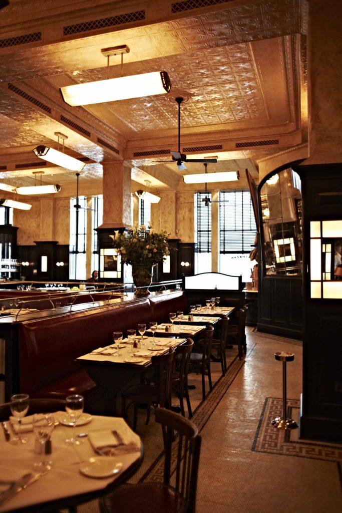 Hunter Classic Original Ceiling Fan Balthazar - restaurant 3 - by David Loftus