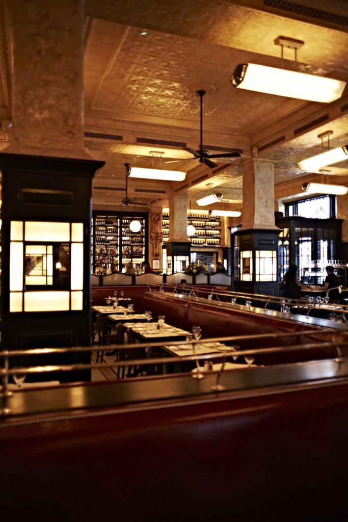 Hunter Classic Original Ceiling Fan Balthazar - restaurant 4 - by David Loftus