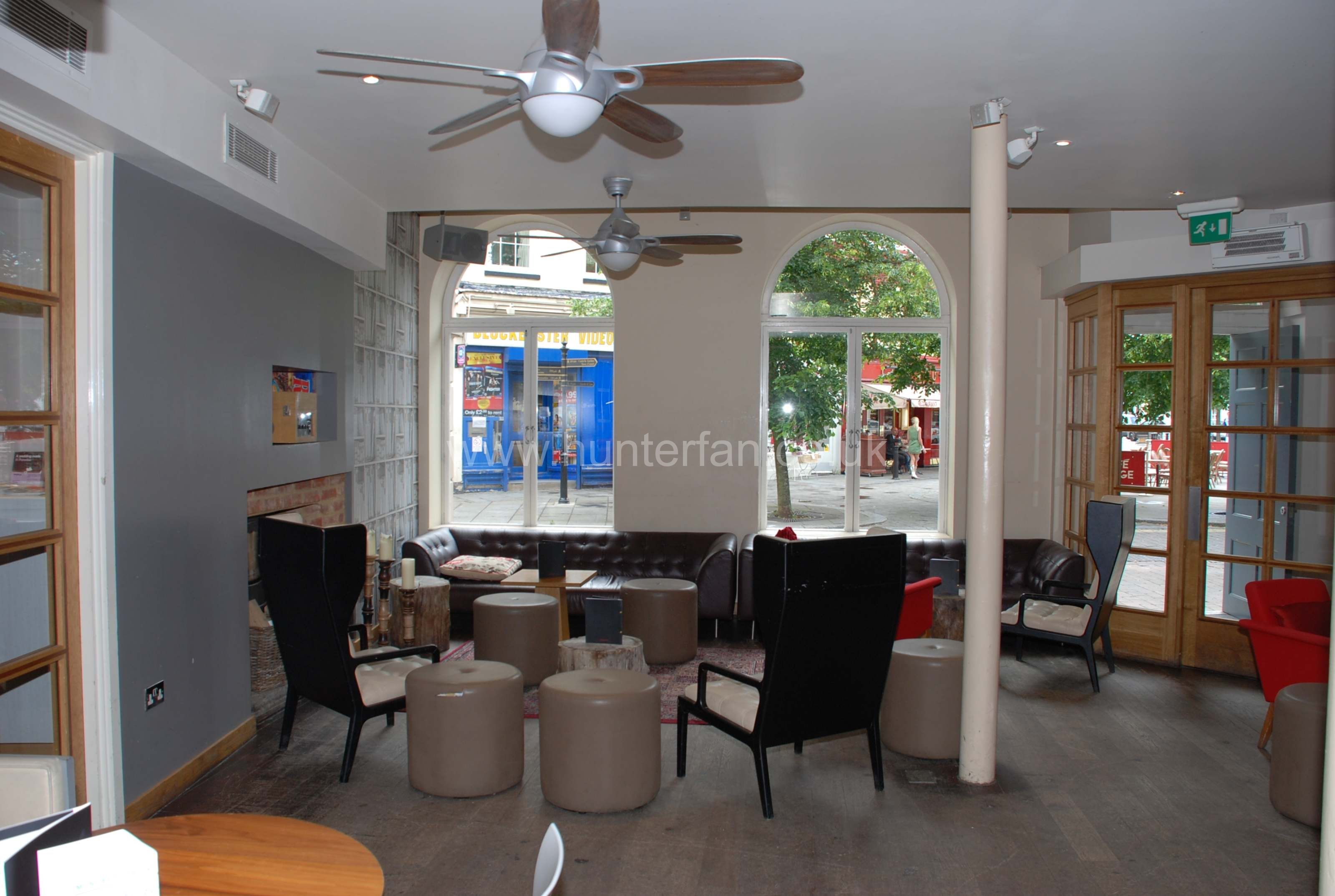 Restaurant Ceiling Fan Gallery